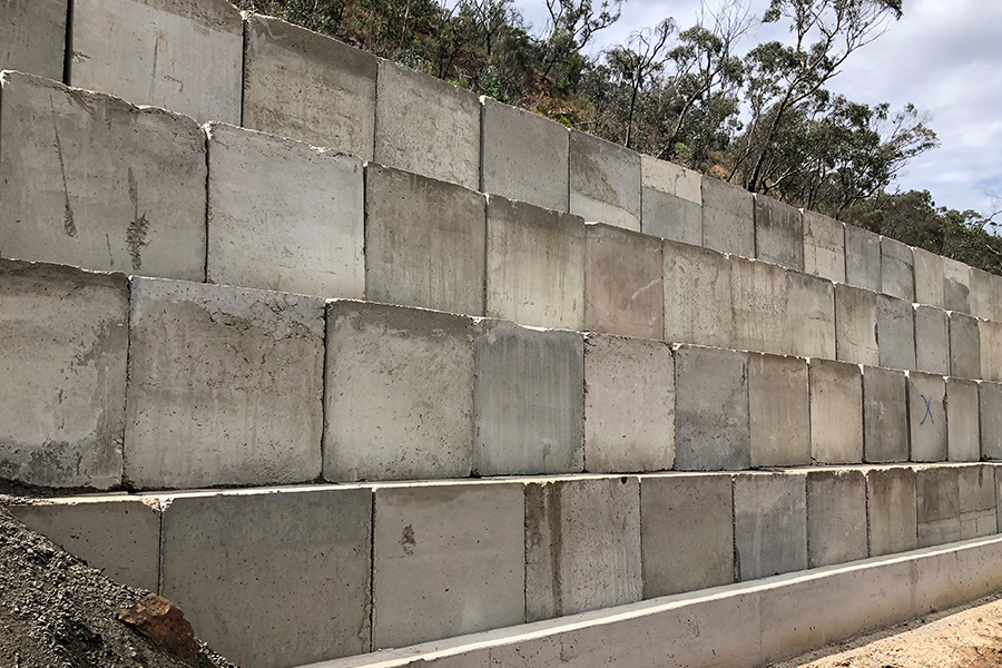 Gorge Road Retaining Wall